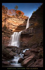 Kaaterskill Falls in Fall (Ted Glazer: Vertical Nature Photography) Tags: rapids waterfalls kaaterskillfalls catskillstatepark tedglazer verticalnature