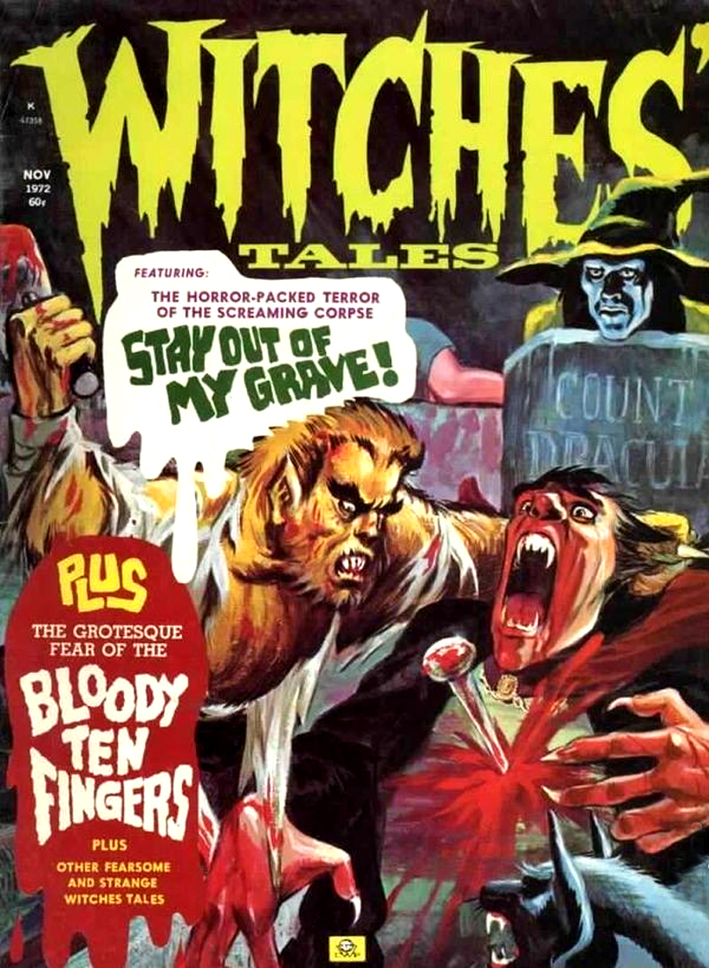 Witches' Tales Vol. 4 #6 (Eerie Publications 1972)