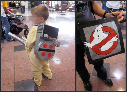 homemade ghostbuster