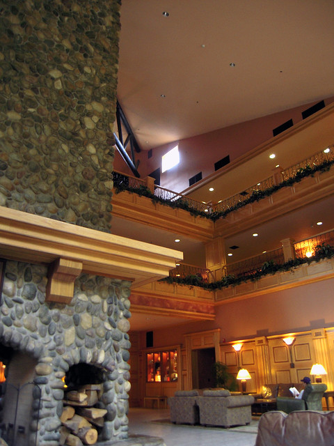 Bonneville Hot Springs Resort Lobby