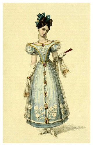 023-Vestido de baile 1828-The Repository of arts, literature, commerce, manufactures, fashions and politics 1809-1829- Ackermann Rudolph