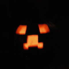 Creeper pumpkin