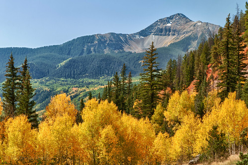 Fall color in the scenic San Juan Mountains... Colorado by toryporter (back... FAR behind!)