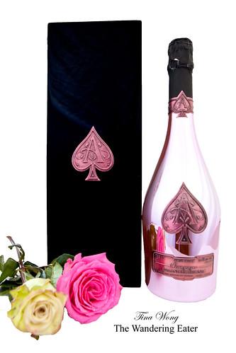 "Armand de Brignac Rosé ""Ace of Spades"" Champagne"