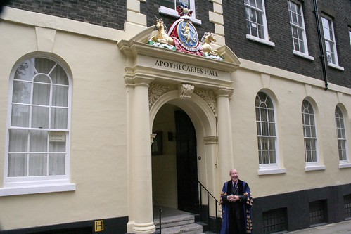 Apothecaries Hall entrance