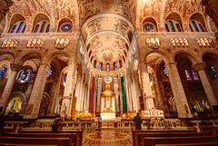 Basilica Sainte Anne de Beaupre (jezza323) Tags: canada angle pentax quebec basilica wide sigma wideangle indoor indoors quebeccity 1020mm hdr iso1600 uwa sigma1020mm 10mm sainteannedebeaupre photomatix k200d pentaxk200d pentaxart