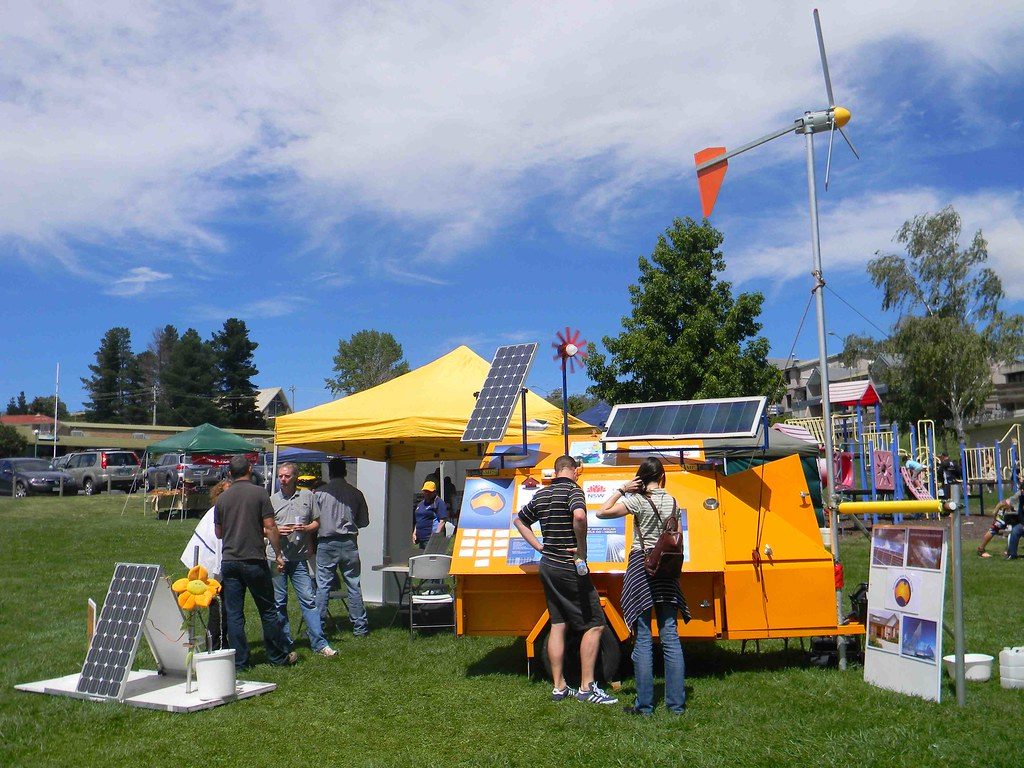 Renewable Energy Trailer at Jindabyne