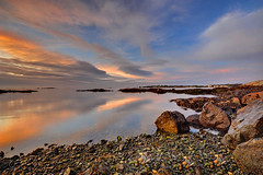 Ribbons at Sunrise (Northern Straits Photo) Tags: autumn canada reflection fall water sunrise nikon bc britishcolumbia victoria vancouverisland d700 secretbeaches northernstraitsphotography