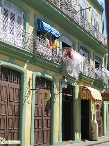 Building in Havana Vieja Cuba