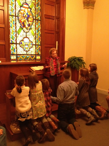 communion in the chapel