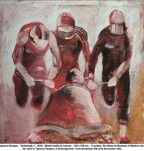 """Ignacio Burgos - """"Bobsleigh 1"""", 2010 by artimageslibrary"""