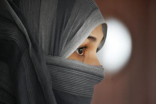 無料写真素材, 人物, 女性, ヒジャブ, 人物  横顔・横を向く, トルコ人, イスラム教