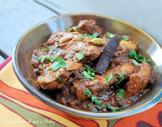 Vindalho de Galinha also known as Chicken Vindaloo