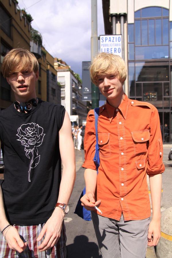Milan2011.7.11_002Magnus Alinder&Johan Erik Goransson