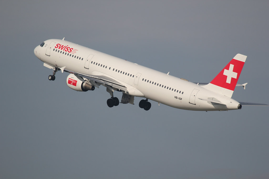 Swiss Airbus A321-111