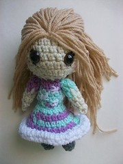 Space girl doll (Mooy) Tags: girl toy doll space crochet etsy amigurumi mooeyandfriends