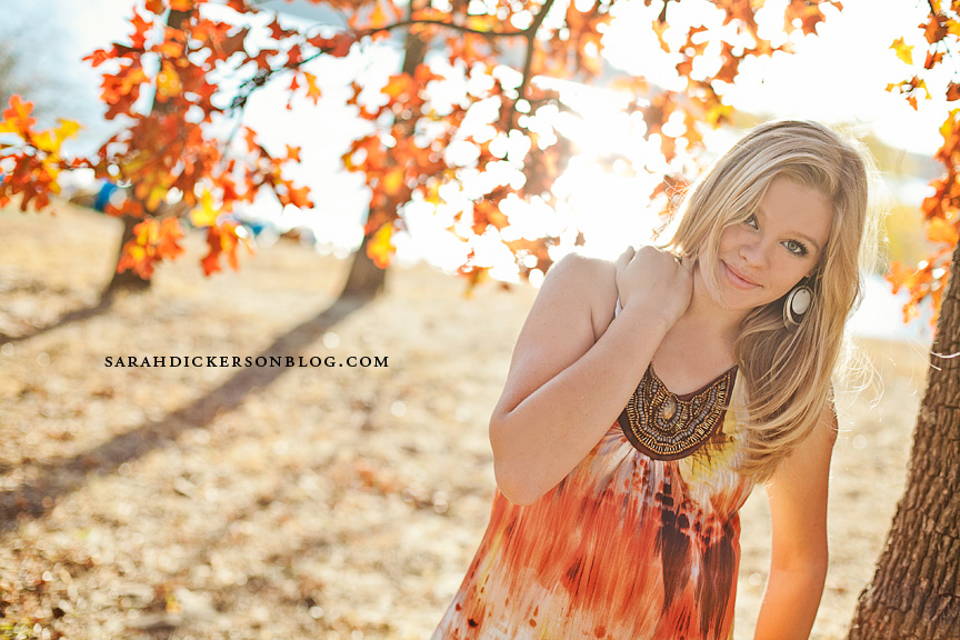 Shawnee Mission Park senior photos