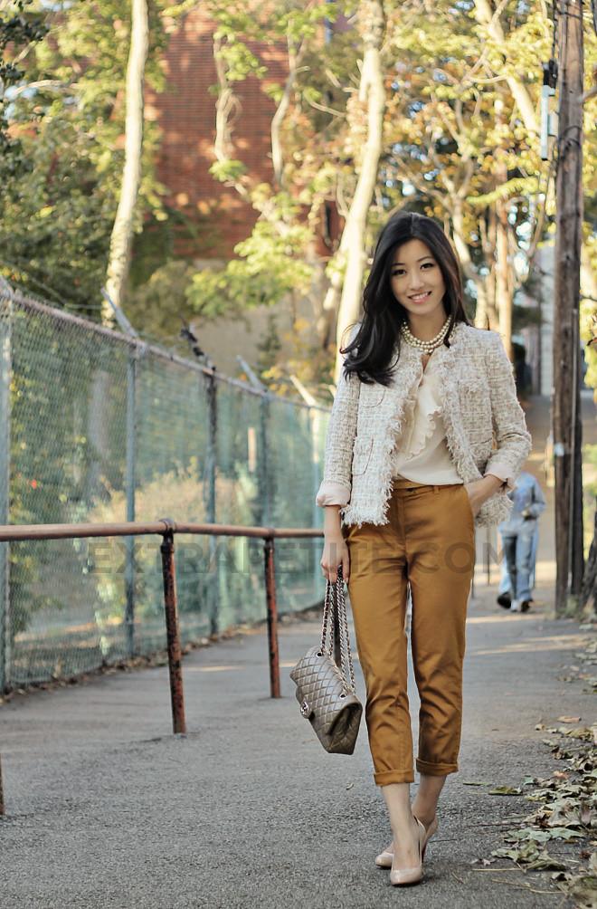 Chanel Inspired Jacket Uniqueen S Malang Jacket Ella Pretty Blog