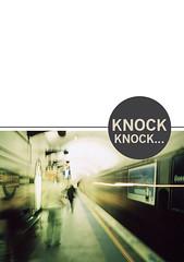 Knock knock magazine (Blomtrog) Tags: streetart pasteup art graffiti drawing stickers sydney melbourne knockknockmagazine