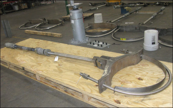 Heavy Duty Yoke U-Bolt Pipe Clamps for a Continuous Catalyst Regeneration Plant