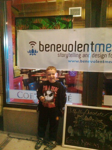 Isaac at Benevolent Media Festival
