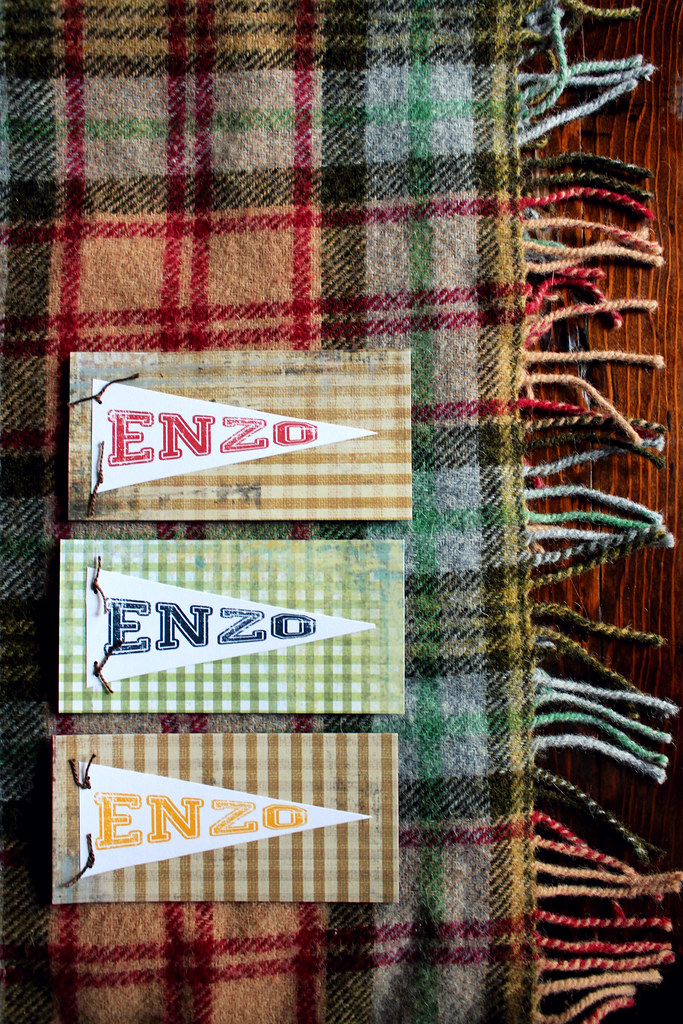 pennants and plaid