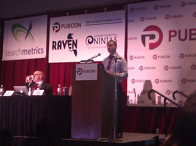 Mike Verghios PubCon Vegas 2011
