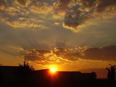 Early Sunrise (pokezepenguin) Tags: sky sunlight nature colors beautiful sunshine clouds sunrise colorful pretty bright bold