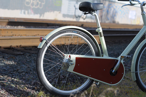 Paper Bicycle, Rear Non-Triangle