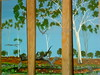 Rod Lucas, Acrylic Painting 5 (ABC Open North West Queensland) Tags: artist northwest paintings eucalypt queensland gumtrees gulfofcarpentaria karumba indigenousartist outbacklandscape rodlucas outbackartist