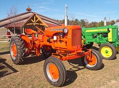 Allis-Chalmers CA (Thumpr455) Tags: ca orange tractor northcarolina 420 johndeere arden allischalmers wnc nikond200