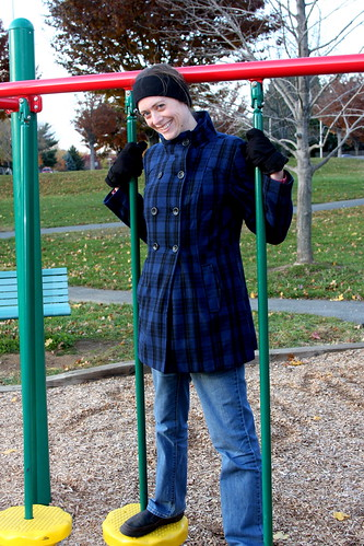 Coat on Playground