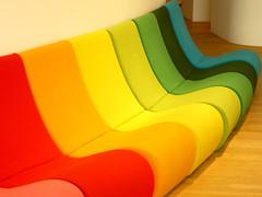 Rainbow (Marco Braun) Tags: bw en germany deutschland am rainbow colorado arc muse ciel colored vitra coloured rhein allemagne bunt regenbogen weil weilamrhein 2011 badenwrtemberg vitradesign