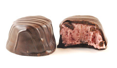 See's Orange Cranberry Truffle