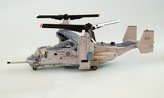 MV-22B Osprey (5) (Mad physicist) Tags: usmc lego military marines osprey v22 tiltrotor mv22b