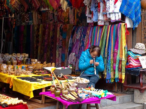 Xijiang - tienda de artesanías