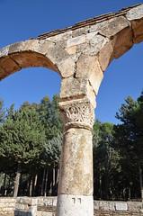 Anjar, Umayyad city, al-Walid I, 705-15, along the decumanus maximus (5) (Prof. Mortel) Tags: lebanon umayyad anjar