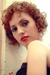 Liber Spiritus (Laura Sardinha) Tags: red black laura hair dress purple makeup paula short lipstick gomes manaus gaga amazonas palmeira sardinha