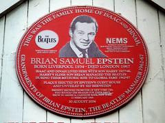 Photo of Harry Epstein red plaque