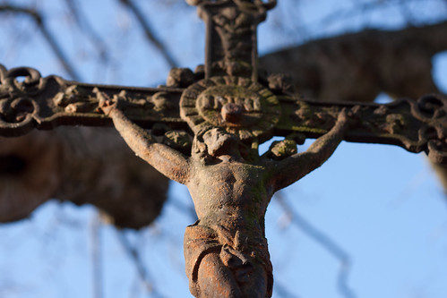 044 Detail kříže - Kristus