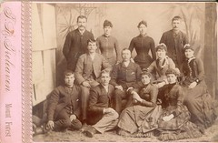 Treleaven, T.L. of Mount Forest, ON - Group (snap-happy1) Tags: ontario canada men fashion forest cards photography women cabinet tl victorian photographers mount rochon treleaven
