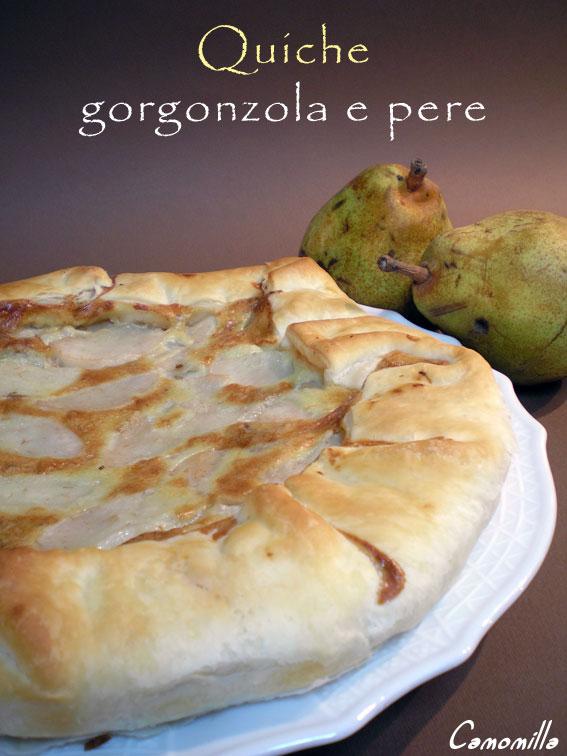 quiche-gorgonzola