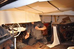 "1956 Oldsmobile 88 Ez Boy Interior Install • <a style=""font-size:0.8em;"" href=""http://www.flickr.com/photos/85572005@N00/6348180630/"" target=""_blank"">View on Flickr</a>"