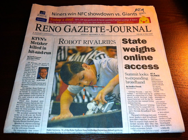 Summit Front Page News - Reno Gazette-Journal