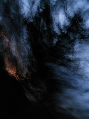 and the wind is making speeches 2 (wood_owl) Tags: ohio nature forest dark experimental wind dusk icm cuyahogavalleynationalpark kendallledges intentionalcameramovement
