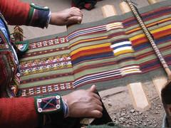 Weaving (Baltimore Bob) Tags: wool alpaca peru weaving lavicunita