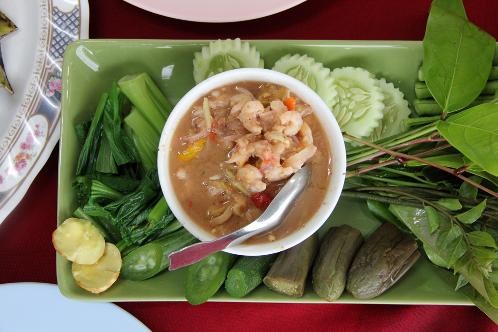 Veggies and Dip - Nam Prik