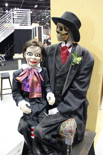 Animatronic ventriloquist