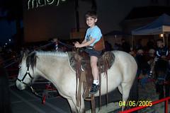 Kid On Pony Ride