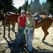 Riding to Mt. Spokane Summit